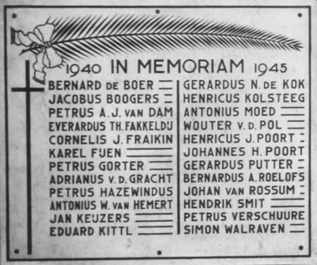Gedenkplaat Gerardus Majellakerk Ambonplein Amsterdam