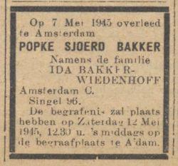 de Waarheid 11-05-1945