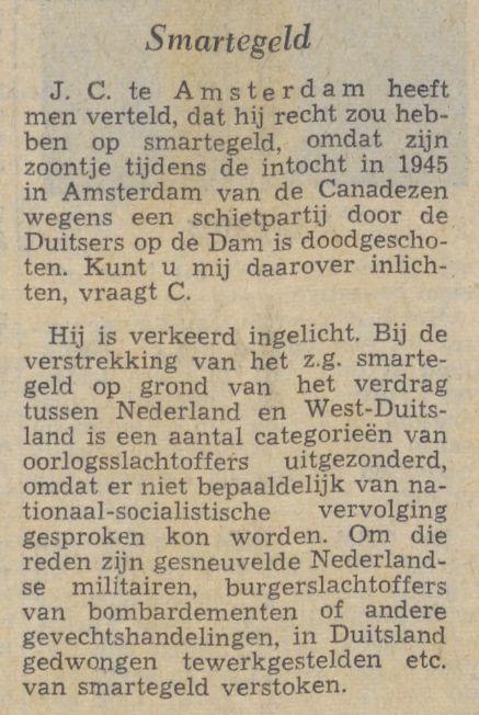De Waarheid, 14 augustus 1964