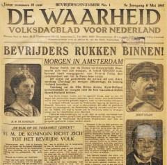 De Waarheid 6 mei 1945