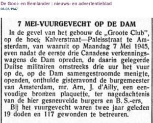 Gooi en Eemlander 8 Mei 1947