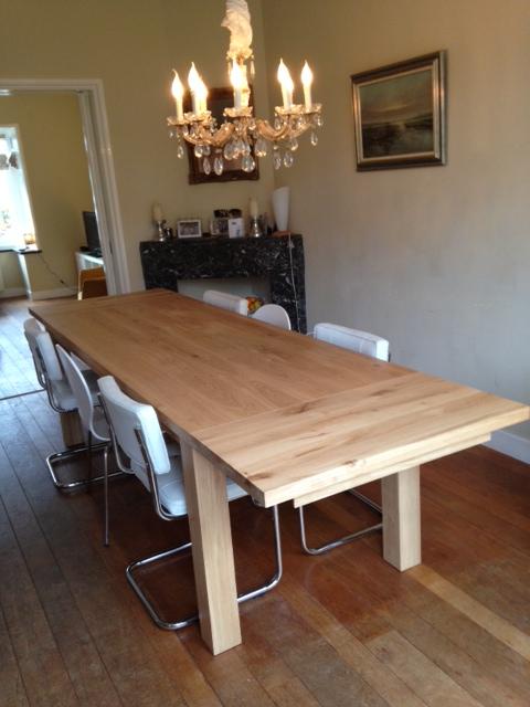 Verlengbare tafel LIMO  DEEIKENTAFELNL