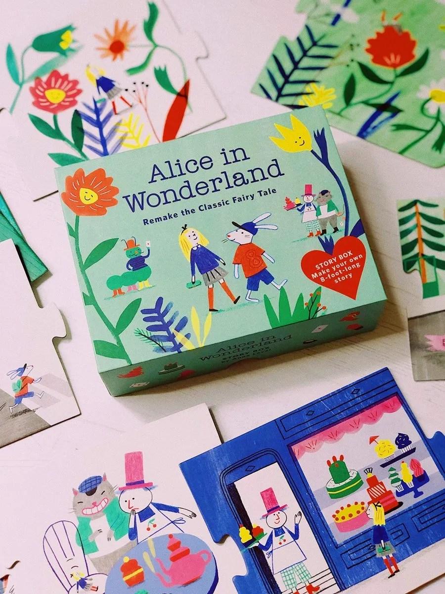 BIS Alice in Wonderland - Sprookjesbox Anne Laval