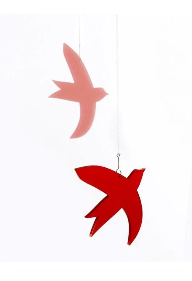 la miseto muurdecoratie raamdecoratie vogel