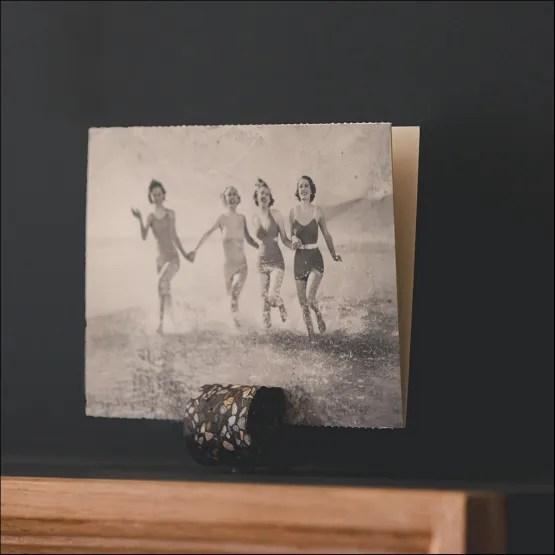 Fifty Fotohouders - 3 Stuks - Terrazo Dark