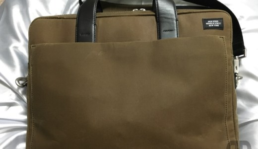 JACK SPADE NEW YORK 〜 Waxwear Commuter Brief