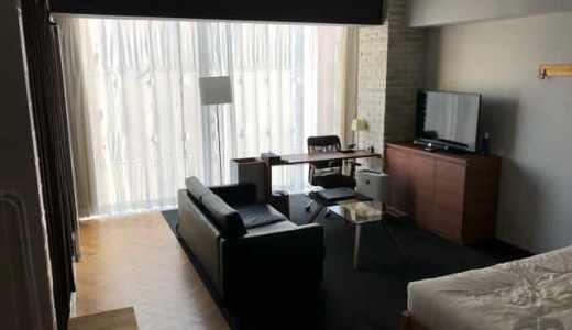 大阪・阿波座のホテルTHE ROOMS OSAKA。1フロア1室という面白いコンセプトのホテル。ワンルームのデザイナーズマンション暮らしを体験♪