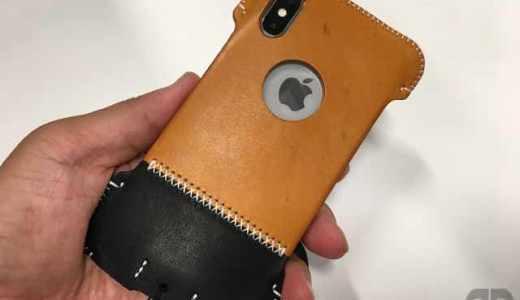 iPhoneX用イタリアンオイルレザー製シンプルジャケット/C。新型abicaaeゲットだぜ!どこが変わったの?旧型と徹底比較!