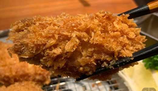 とんかつ神楽坂さくら本店でランチ。旬のカキフライとヒレかつの定食をいただきました♪