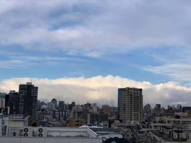 ココロノオフィス神楽坂セミナールームからの風景