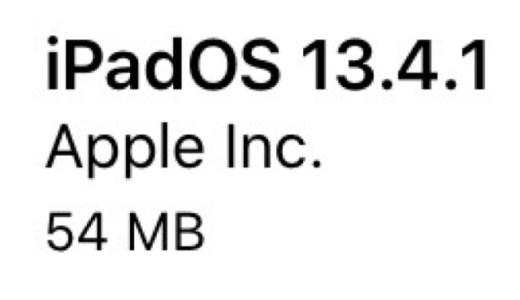 iPadOS13.4.1(17E262)リリース。3件のバグ修正と改善。更新すべき?待つべき?更新後の不具合の有無についてご紹介