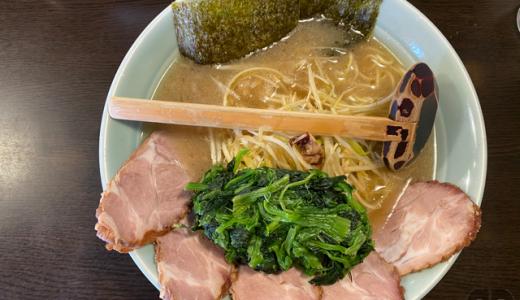 相模原市横山台のラーメンショップ庵庵でネギチャーシューメン+餃子をいただく。朝ラー&とろろが食べれる貴重なお店