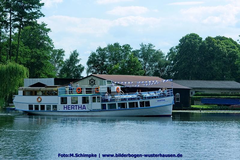 Kontakt Mail zur Crew der alten Dame HERTHA auf www.hertha-dampfer.de