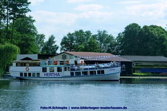 Der Hertha Dampfer - Ein Schiff mit viel Eisenbahn