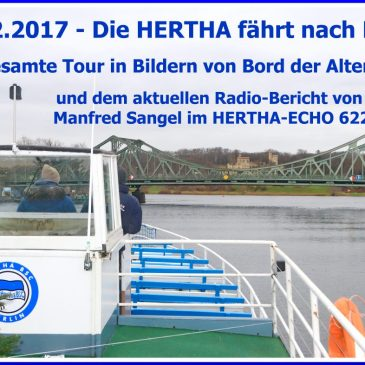 HERTHA AUF DEM WEG NACH BERLIN-TOURBERICHT VON BORD