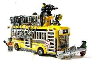 Lego Zombies - legobus