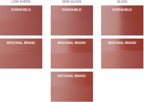 Exterior paint gloss level home painting - Exterior paint gloss or low sheen ...
