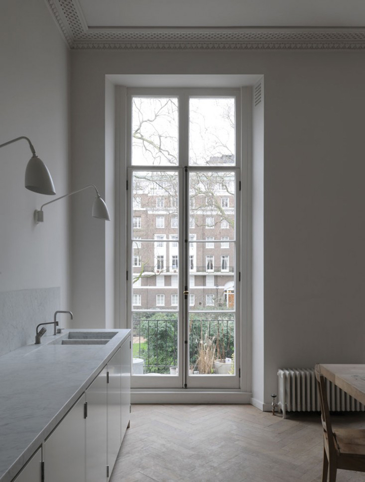 Kitchen Perfect Drdh Architects London Flat Minimal Kitchen  ...