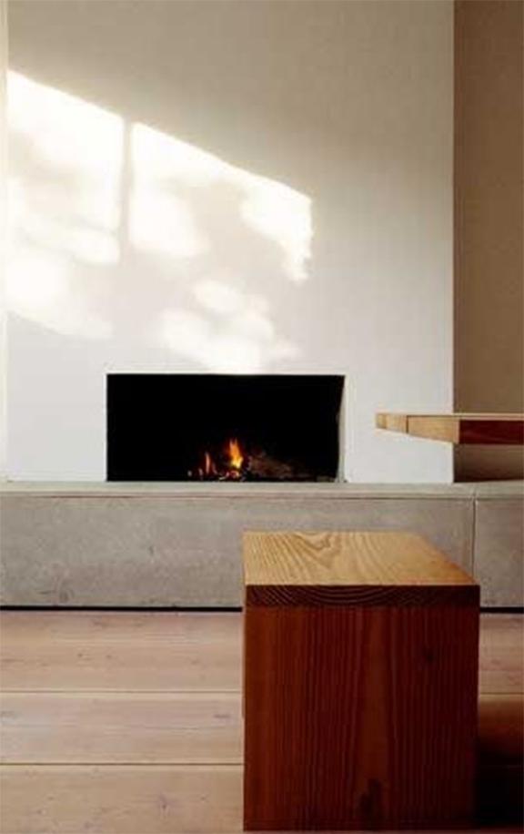 Interior Inspiration Minimalist Fireplace  DeSmitten