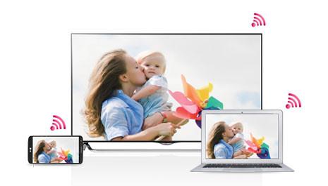 smartshare-berbagi konten dari smartphone, laptop dan lain-lain dengan smart TV LG