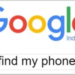 find my phone - Google