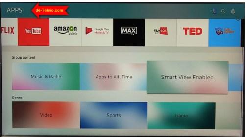 Cara Download Dan Menginstall Aplikasi Pada Smart Tv Samsung De Tekno Com