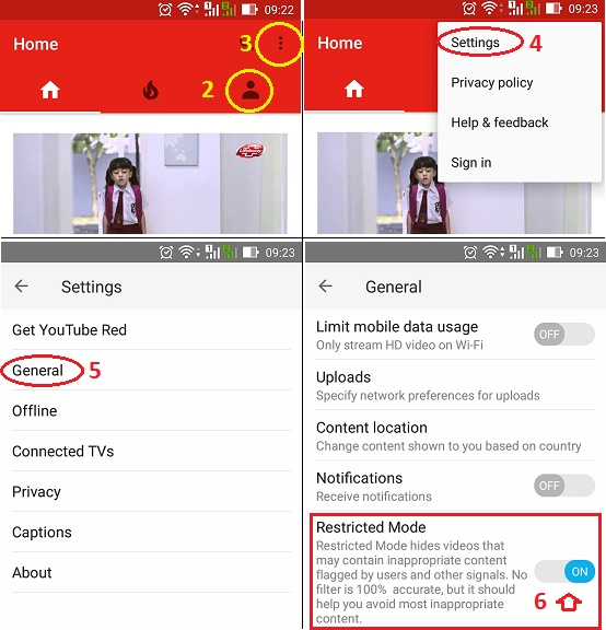 Settings Youtube Dan Search Engine Agar Aman Buat Anak Anak Kita De Tekno