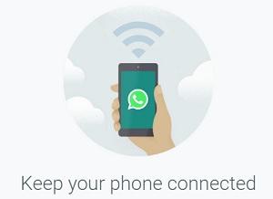 Aplikasi WhatsApp di laptop/PC