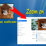 phone as zoom webcam