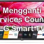 Mengganti Negara layanan LG