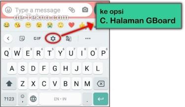 Setting dari keyboard - menambahkan keyboard Arab Xiaomi