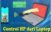 Control hp dari laptop