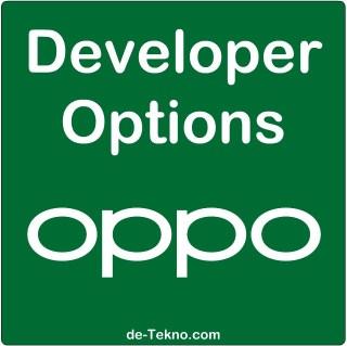 Mengaktifkan Developer Options OPPO