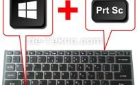 Screenshot Laptop Windows 10