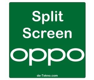 Split Screen hp Oppo