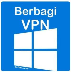 Berbagi VPN dari laptop Windows