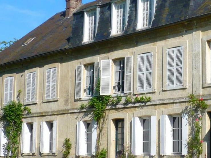 grande propriété bourgeoise façade