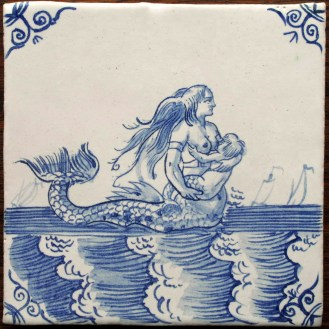 9001-Zeewezen-Meerjungfrau-mit-Kind