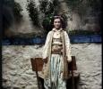 Призрен, Косово, 1913 - госпожица Любица в турски одежди