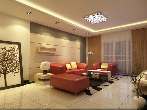 2 Stze Beleuchtung Wohnzimmer 3D Model DownloadFree 3D Models Download