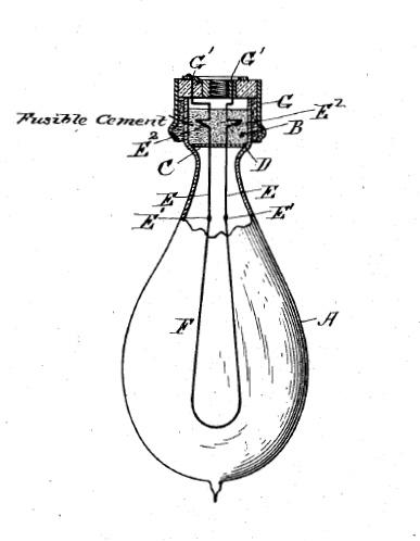 Kohlefadenlampe