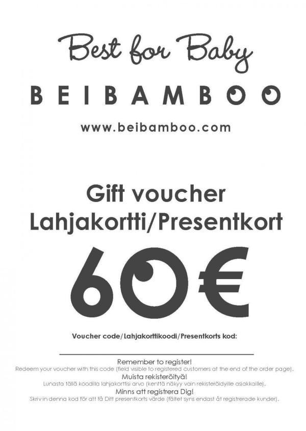 Geschenk Gutschein 60 €-0