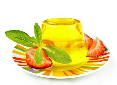 Desserts und Spirituosen mit Kräutern