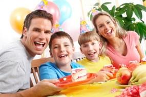 Gesunde Rezepte für Kinder Partys