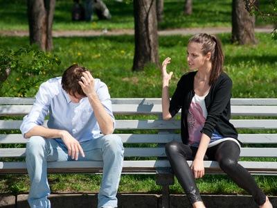 Sind Sie in einer gewaltsamen Beziehung?