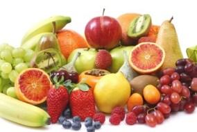 Diät mit Reis und Früchte