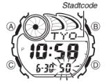 G-Shock G-2900 / 2548 Uhrzeit Einstellen