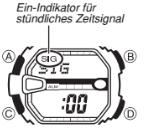 G-Shock G-9000 / 3031 Alarmzeit Einstellen