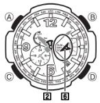 G-Shock GW-4000 / 5087 Uhrzeit Einstellen