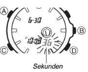 Edifice EFA-120 / 4334 Uhrzeit Einstellen